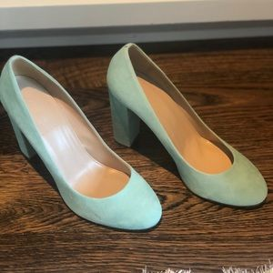JCREW Block Heels Never Worn
